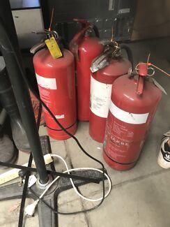 Free fire extinguishers -expired