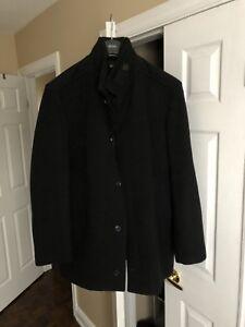 BOSS! Hugo Boss cashmere-wool coat