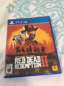 Red Dead Redemption II 2 Playstation 4 PS4
