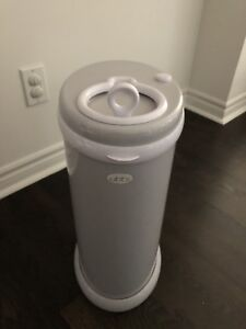 Ubbi steel diaper pail + bags