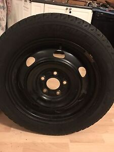 Set of 4 Michelin tires and rims