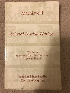 Selected Political Writings by Machiavelli