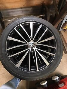 VW wheels and tires