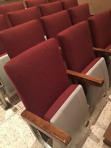 Theatre seating vintage