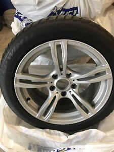 BMW Winter Rims with tires 225 50 R17