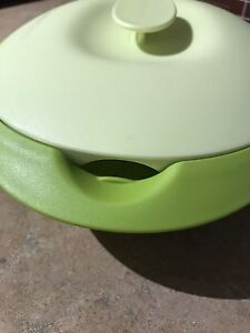 Tupperware serving dish and steamer