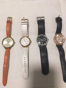 Michael Kors watches and D&G