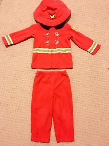 24M Firefighter Halloween Costume