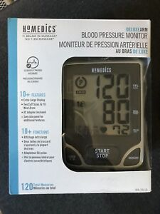 Deluxe Blood Pressure Monitor by Homedics - NEW IN BOX