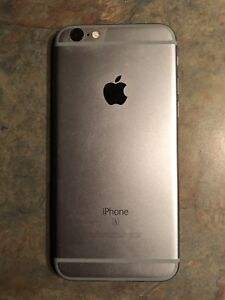 iPhone 6s in excellent condition.  Locked to bell.