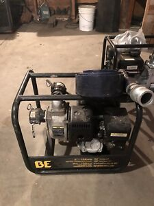 Used 3 inch water pump