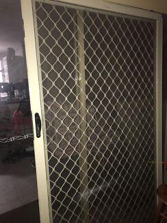Sliding Security Flyscreen Door