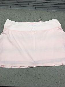 Pink Lululemon Pace Setter Skirt/Short