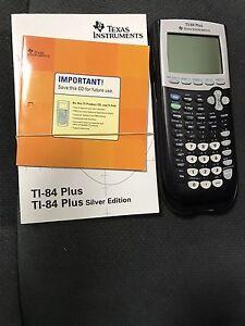 Scientific Calculator (T1-84 Texas Instruments) Ngunnawal Gungahlin Area Preview