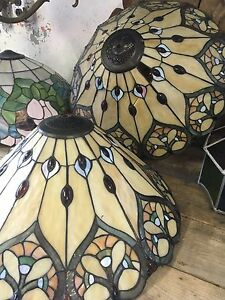 Lot of Stained Glass Lamp Shades