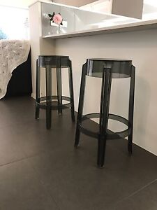 Set of Ghost Black bench stools Camden Camden Area Preview