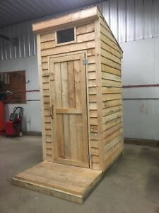 Handcrafted Outhouse