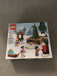 Lego 40263 Christmas Town Square New