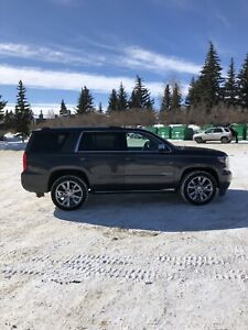 2017 Chevy Tahoe Premier edition