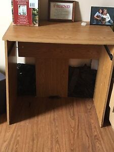 Free small desk and chair