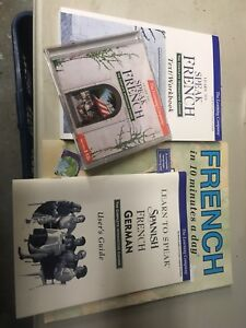 Learn to speak French Books /CD