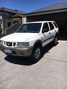 2003 Holden Frontera V6 4WD East Fremantle Fremantle Area Preview