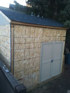 10x8 Custom built shed