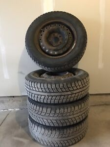 195/65R15 Winter Tires and Rims $300 obo
