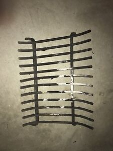 Iron Log grate for fireplace or fire pit