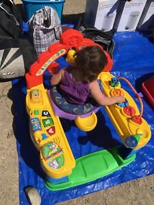 Baby toddler sit in play zone