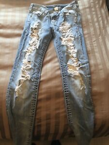 Jeans and a dress for sale