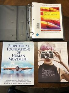 First year kinesiology text books