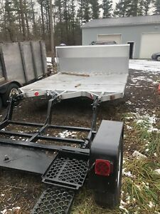 Trailer and car dolly
