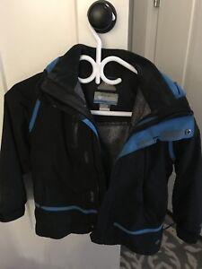 Boys Columbia Titanium Winter Coat