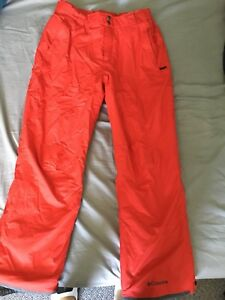 Columbia men's skiing pants