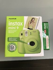 Fujifilm Instax mini 9, lime green** film incl. BRAND NEW IN BOX