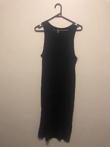 NEW Miss Shop black maxi dress. Size 10