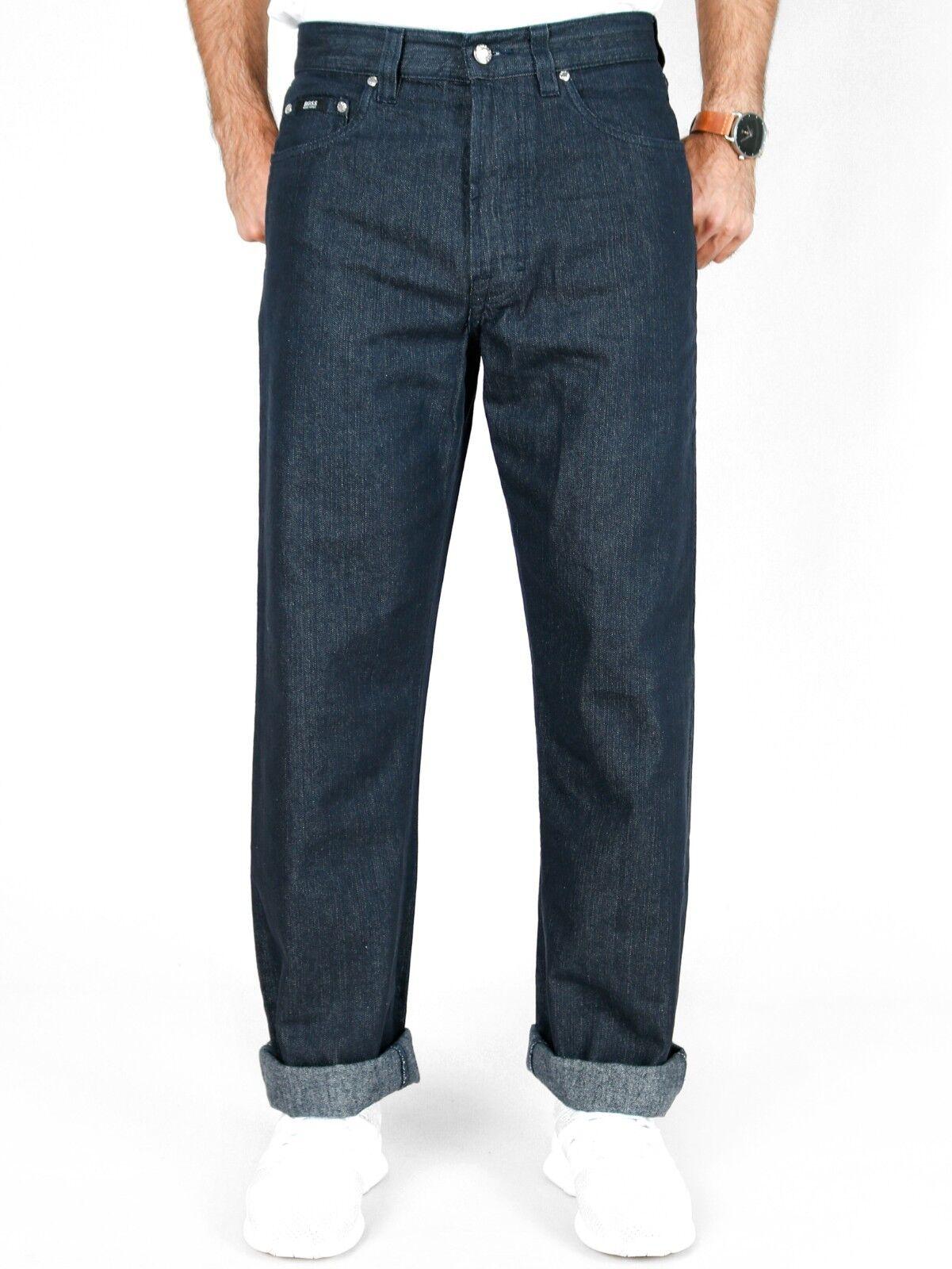 c6ccadc5a800a1 ... Stretch Comfort Jeans hoher Bund Hose. Hugo Boss - Herren Stoff-Hose -  Alabama Comfort Fit - Hoher Bund - W28