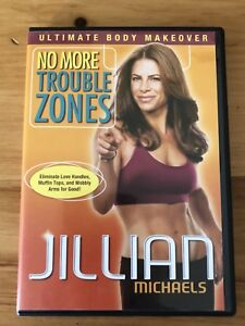 Gillian Michaels 2  work out Dvd's $10