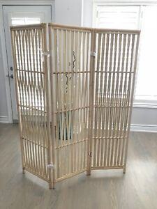 New Bamboo Wooden Room Divider