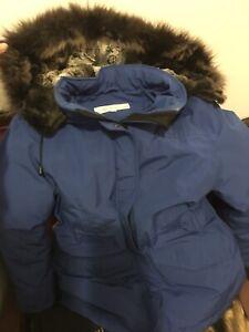 Down Bright Blue Winter Coat