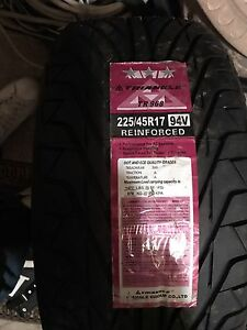 1 brand new triangle tire 225/45R17 94V