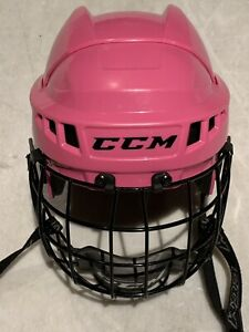 CCM 04 Size Small Adjustable Helmet & Face Mask
