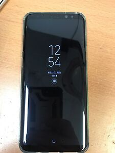 Unlocked Samsung S8 plus black