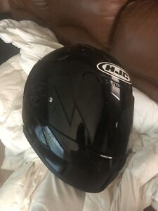 HJC Blacked out helmet