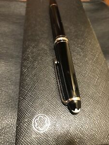 Montblanc Meisterstuck classique fountain pen with gold accents