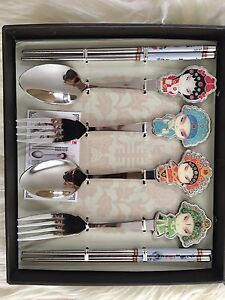Chinese art/ Beijing Opera/ collection/ a set of cutlery