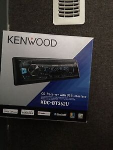 KDC BT362U Bluetooth head unit