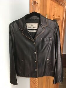 a26c2805be2 Leather Jacket Ladies(Peruzzi)