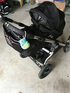 Baby Jogger City Select Double Stroller and accessories